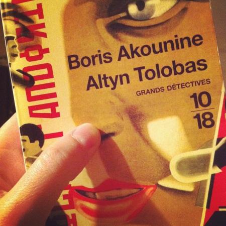 Boris Akounine et son très excellent Altyn Tolobas